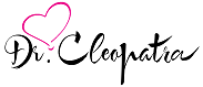 Dr. Cleopatra Signature Pink Heart Black Writing